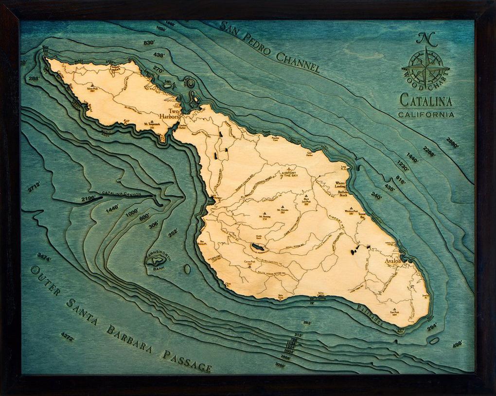 Catalina Island Map - SHACC on