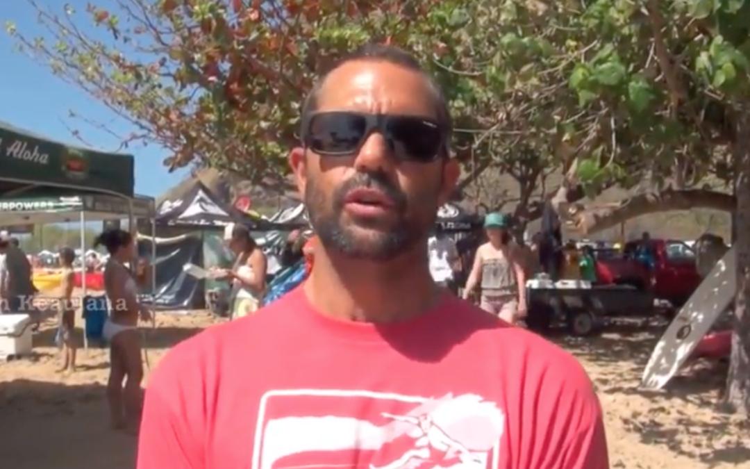 Kaipo Guerrero's Fist Surfboard