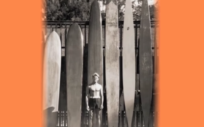 Tom Blake's 1940's Hollow Surfboard