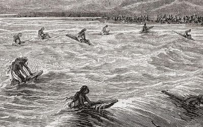 The First Surf Contest?