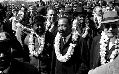 Hawaiian Leis And King's March On Selma